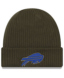 New Era Buffalo Bills Salute To Service Cuff Knit Hat