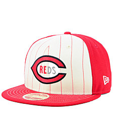 New Era Cincinnati Reds Vintage Front 59FIFTY FITTED Cap