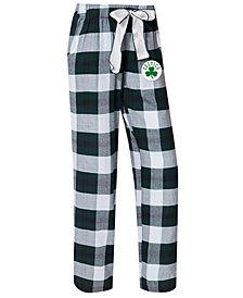 Concepts Sport Women's Boston Celtics Headway Flannel Pajama Pants