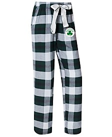 Concepts Sport Women's Boston Celtics Headway Flannel Pajama Pants