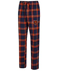 Concepts Sport Men's Chicago Bears Homestretch Flannel Sleep Pants