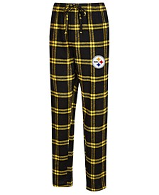 Men's Pittsburgh Steelers Homestretch Flannel Sleep Pants