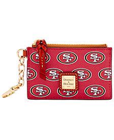 Dooney & Bourke San Francisco 49ers Zip Top Card Case