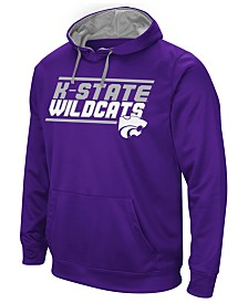 Colosseum Men's Kansas State Wildcats Stack Performance Hoodie