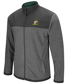 Colosseum Men's Oregon Ducks Full-Zip Fleece Jacket