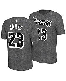 Nike Men's LeBron James Los Angeles Lakers Marled Player T-Shirt