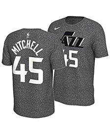Nike Men's Donovan Mitchell Utah Jazz Marled Player T-Shirt