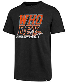 '47 Brand Men's Cincinnati Bengals Regional Slogan Club T-Shirt