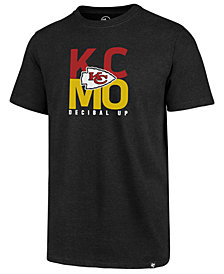 '47 Brand Men's Kansas City Chiefs Regional Slogan Club T-Shirt