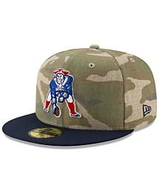 New Era New England Patriots Vintage Camo 59FIFTY FITTED Cap