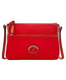 Dooney & Bourke Alabama Crimson Tide Pebble Ginger Crossbody