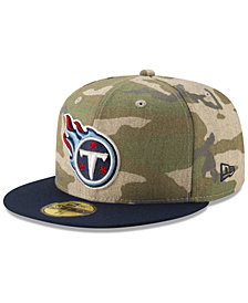 New Era Tennessee Titans Vintage Camo 59FIFTY FITTED Cap