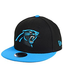 New Era Boys' Carolina Panthers Two Tone 9FIFTY Snapback Cap