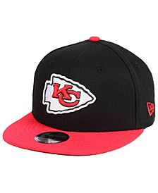 Boys' Kansas City Chiefs Two Tone 9FIFTY Snapback Cap
