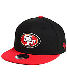 New Era Boys' San Francisco 49ers Two Tone 9FIFTY Snapback Cap