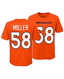 Von Miller Denver Broncos Pride Name and Number 3.0 T-Shirt, Big Boys (8-20)