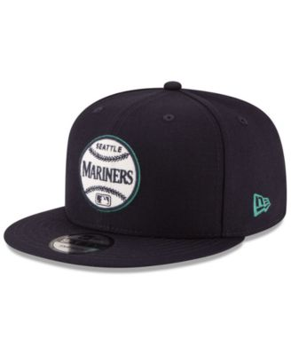 reputable site 5b3d2 df1b6 New Era Seattle Mariners Vintage Circle 9FIFTY Snapback Cap - Sports Fan  Shop By Lids - Men - Macy s