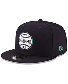 New Era Seattle Mariners Vintage Circle 9FIFTY Snapback Cap