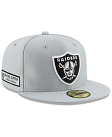 New Era Oakland Raiders Crucial Catch 59FIFTY FITTED Cap