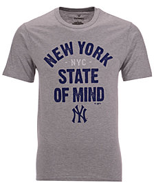 Majestic Men's New York Yankees Mission Statement T-Shirt