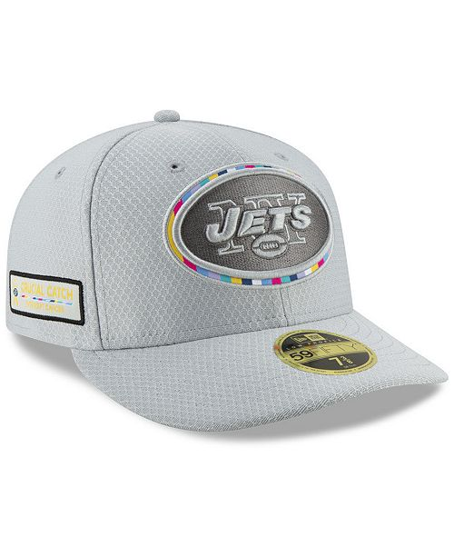buy popular 7ae3f e9129 ... New Era New York Jets Crucial Catch Low Profile 59FIFTY Fitted Cap ...