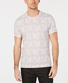 Alfani Men's Jacquard Print T-Shirt, Created for Macy's