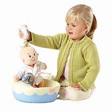 Manhattan Toy Baby Stella Bath Set 15 Inch Baby Doll Accessory