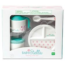 Manhattan Toy Baby Stella Darling Dish Set Doll Accessory