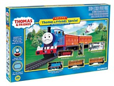 Bachmann Trains Deluxe Thomas With Annie And Clarabel Ho Scale Ready To Run Electric Train Set