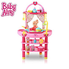 Baby Alive Doll 3 In 1 Cook N Care Play Set