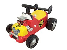 Disney Mickey And The Roadster Racers Mickey Mouse Formula Racer Sound Activity Ride On