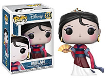 Funko Pop Disney Princess Collectors Set 2, Mulan, Merida, Aurora, Jasmine