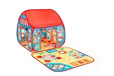 Pop It Up Restaurant And Shop Play Tent With Outside Playmat
