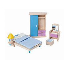 Plantoys Dollhouse Bedroom Neo Style Furniture