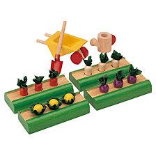 Plantoys Dollhouse Vegetable Garden