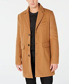 GUESS Men's Andrew Wool Coat