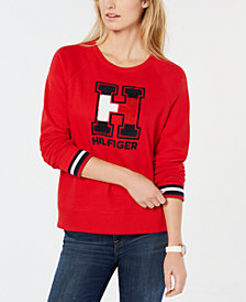 Tommy Hilfiger Sport Chenille Logo Sweater