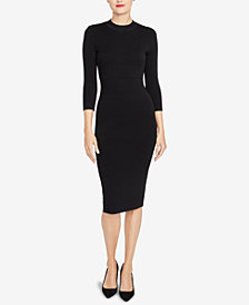 RACHEL Rachel Roy Back-Cutout Sweater Dress, Created for Macy's
