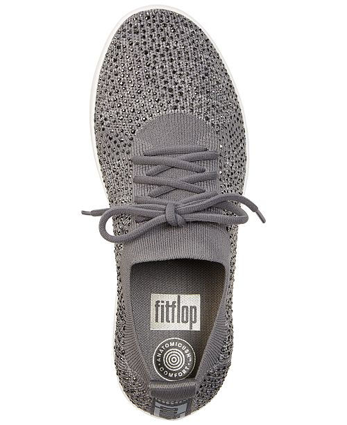 59056e870 FitFlop F-Sporty Uberknit Crystal Sneakers   Reviews - Athletic ...