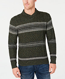 Tommy Bahama Men's Palo Verde Stripe Shawl-Collar Sweater