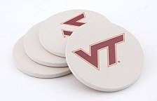 Virginia Tech Thirstystone Coasters, Set of 4