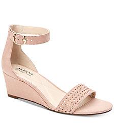Alfani Women's Tamirra  Step 'N Flex Wedge Sandals, Created For Macy's