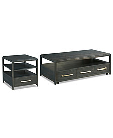 Rowan Table Collection, 2-Pc. Set (Coffee Table & End Table)