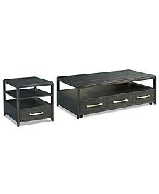 Rowan Table Furniture, 2-Pc. Set (Coffee Table & End Table)