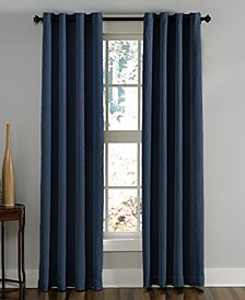 "Lenox 50"" x 108"" Crushed Texture Curtain Panel"