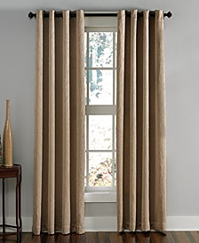 "Lenox 50"" x 144"" Crushed Texture Curtain Panel"