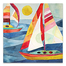 Sunday Sail Printed Canvas