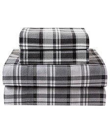 Winter Nights Cotton Flannel Queen Sheet Set