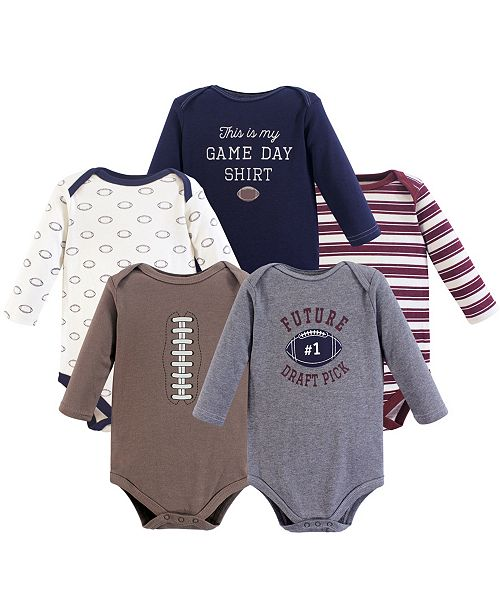 21f0a270e911 ... Baby Vision Hudson Baby Long Sleeve Bodysuits, 5-Pack, Moose, 18- ...