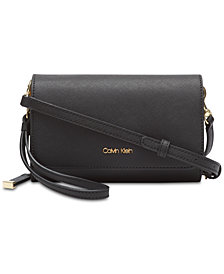 Calvin Klein Leather Naomi Crossbody
